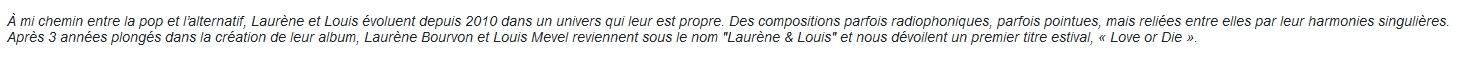 Bio 13a-Laurène & Louis